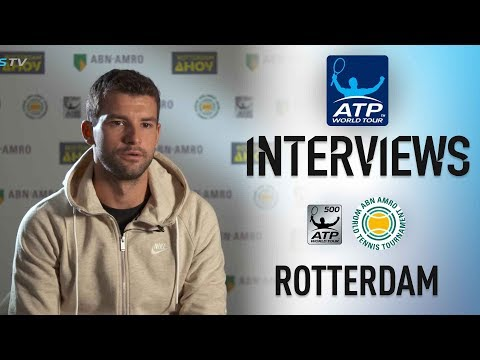 Dimitrov Looks Ahead To Goffin Test At Rotterdam 2018