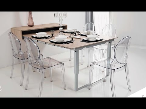 Tavolo Estraibile A Scomparsa.Atim Mensola Party Pull Out Table From A Drawer Tavolo