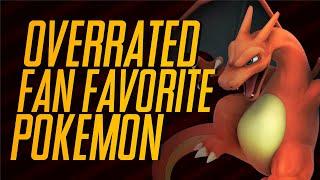 Top 5 | Overrated Fan-Favorite Pokémon | Mr1upz