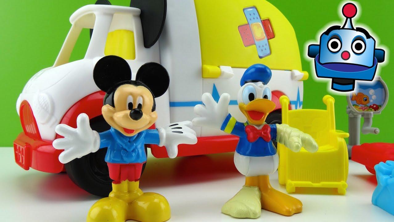 Mickey Mouse MickeyAmbulancia MouskaMedics  Juguetes de Mickey