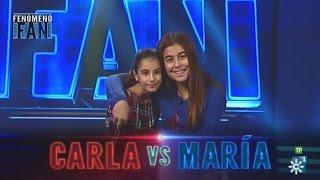Fenómeno Fan (T2) | La Grada fan le da la victoria a María