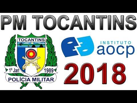 PM Tocantins AOCP - 2018 - Questões Comentadas