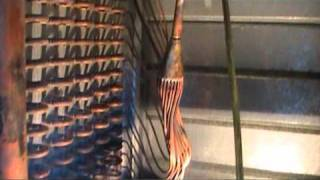 limpieza de circuito de refrigeración con gas R 22