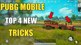 ONLY 0.2% PEOPLE KNOW ABOUT THIS TRICKS ! PUBG MOBILE TOP 4 NEW TIPS AND TRICKS HINDI