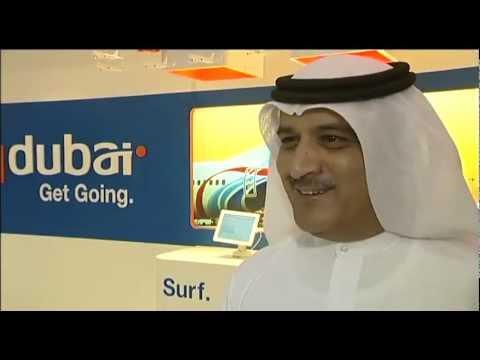 Ghaith Al Ghaith, CEO, Fly Dubai @ ATM 2012
