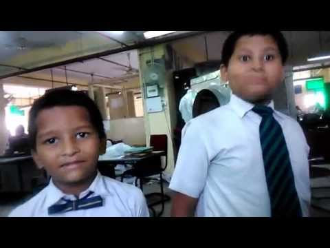 Funny Boy Farman & Ouzz from Christchurch College Lucknow visit