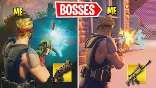 I Eliminated All Season 6 BOSSES In One Game Fortnite