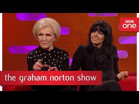 Mary Berry was once arrested by customs officials - The Graham Norton Show: BBC One