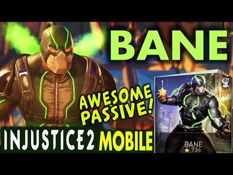 Injustice 2 Mobile: BANE. Super move | Gameplay | Review. Android/IOS