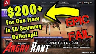 Apex Legends RIDICULOUS Iron Crown Loot Boxes - Angry Rant!
