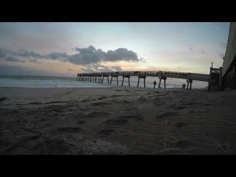 Sunrise Time Lapse Vero Beach Pier
