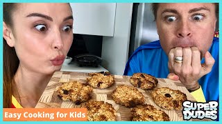 3 Ingredient Cookies | Easy Cooking For Kids | Super Easy!!