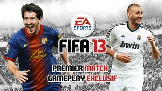 FIFA 13 - Premier match commenté - Gameplay exclusif