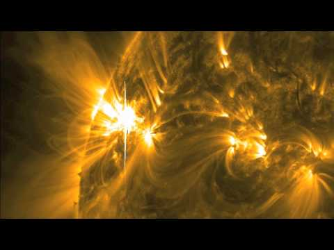 NASA SDO - X1.9 Cl Solar Fl, November 3, .mov