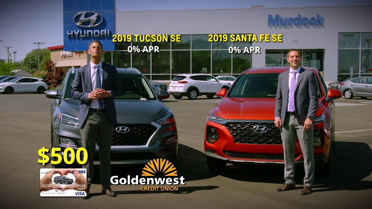 Murdock Hyundai Murray >> Murdock Hyundai Of Murray Monthly Specials