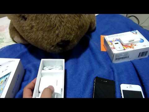 แกะกล่อง iPhone 4s ของจริง
