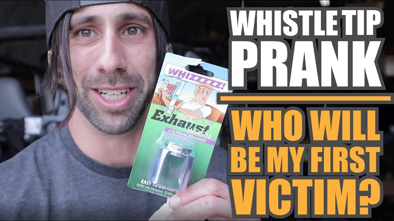Whistle Tip Prank: Who Will be my First Victim? Jeep Wrangler gets a  Whistle Tip