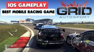 GRID AUTOSPORT MOBILE - iOS GAMEPLAY ( BEST MOBILE RACING GAME )