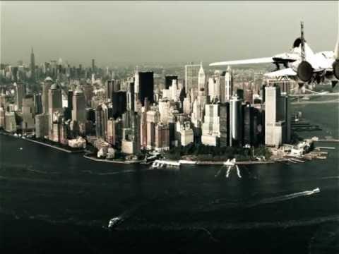 Fighter Jet over Manhattan