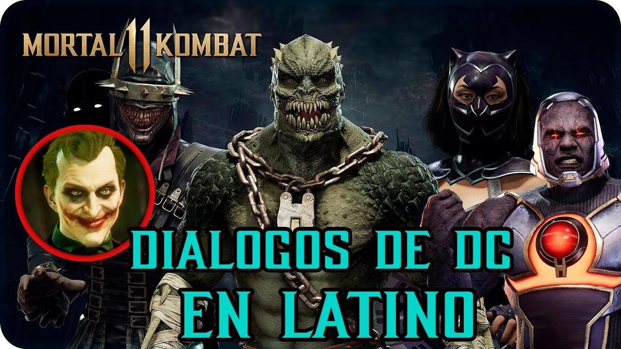 Mortal Kombat 11  |  Joker Todos los Diálogos con trajes de DC  | Why So Serious?