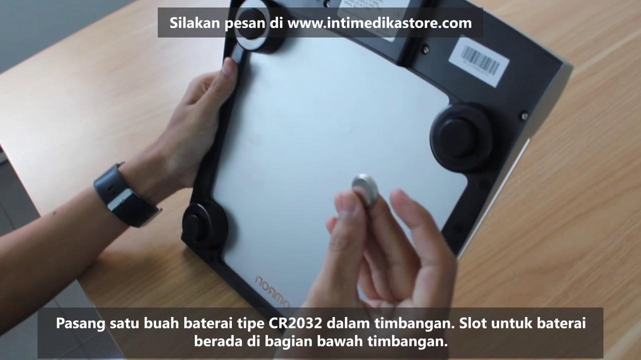 Cara Penggunaan Timbangan Badan Digital Omron Hn 283 Kaca Elektronik Intimedikastorecom
