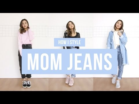 How I Style Mom Jeans | clothesnbits