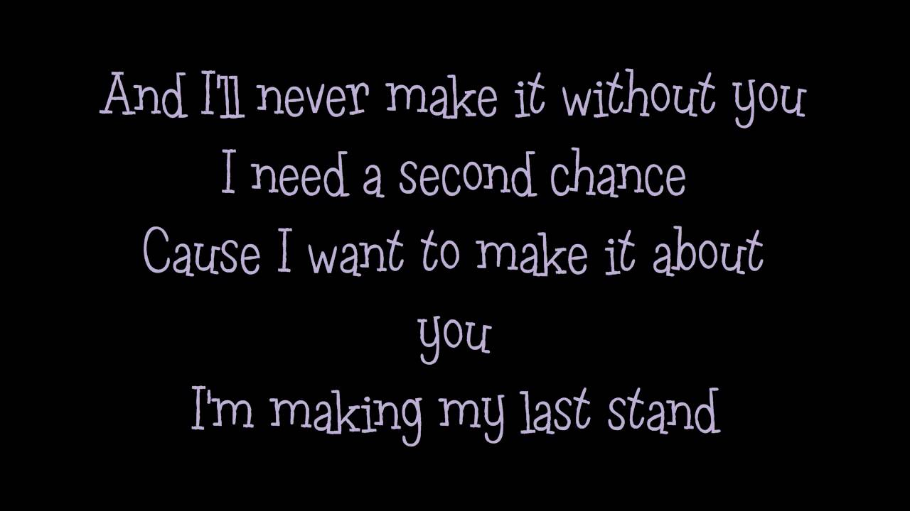 Adelita's Way - Last Stand (Lyrics) - YouTube