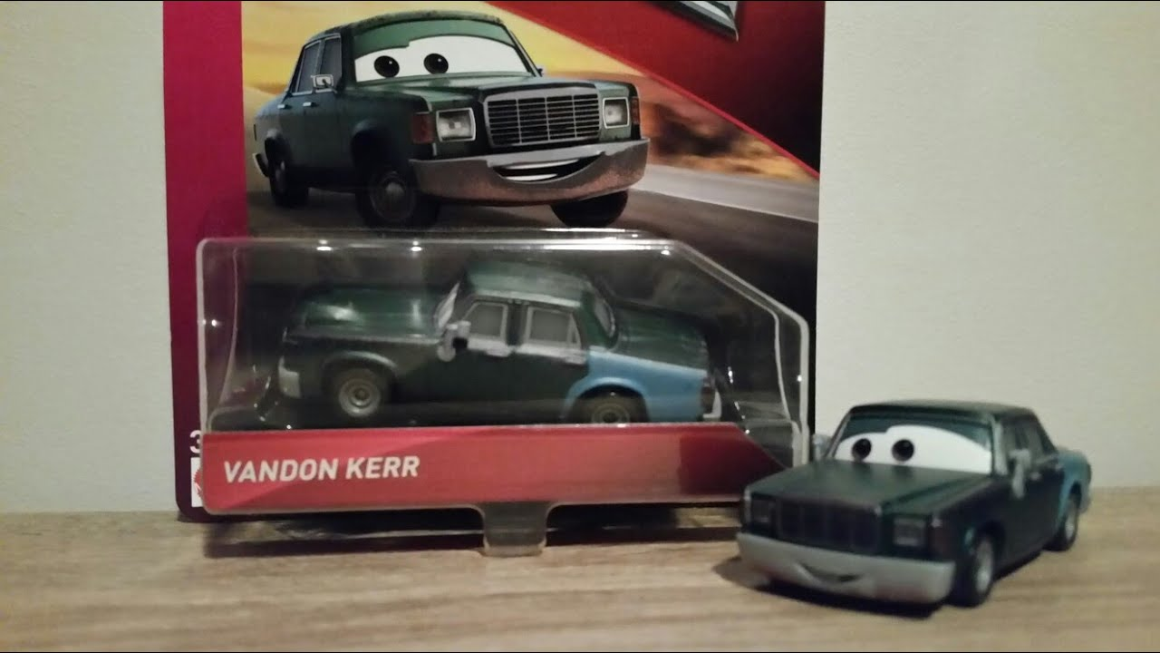 VANDON KERR Disney Pixar Cars NEW UNOPENED