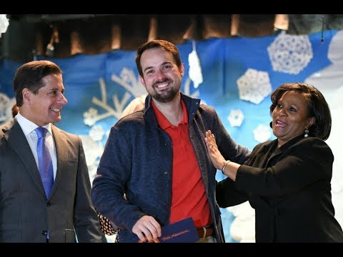 STEM Superstar Dale Adamson Wins Florida Milken Award in Miami