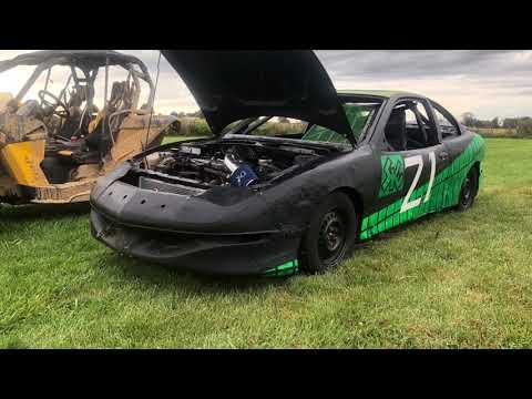 First hornet car/build/race Lawrenceburg speedway