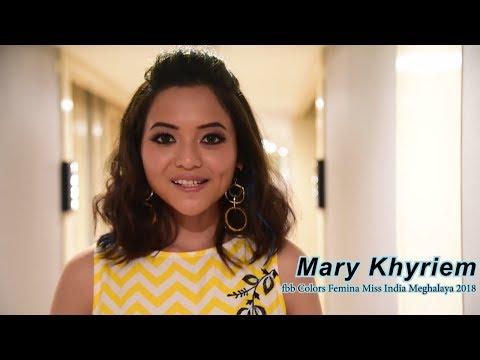 Introducing fbb Colors Femina Miss India Meghalaya 2018 Mary Khyriem