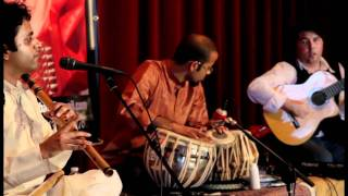 """Making Music"" live performance by Hindustani/Flamenco fusion group Wahh (Ft. Jay Gandhi - bansuri)"