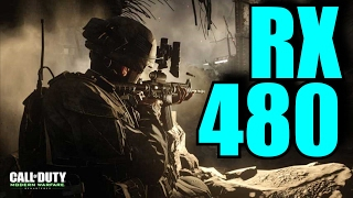 Call of Duty Modern Warfare Remastered RX 480 8GB OC | 1080p | FRAME-RATE TEST