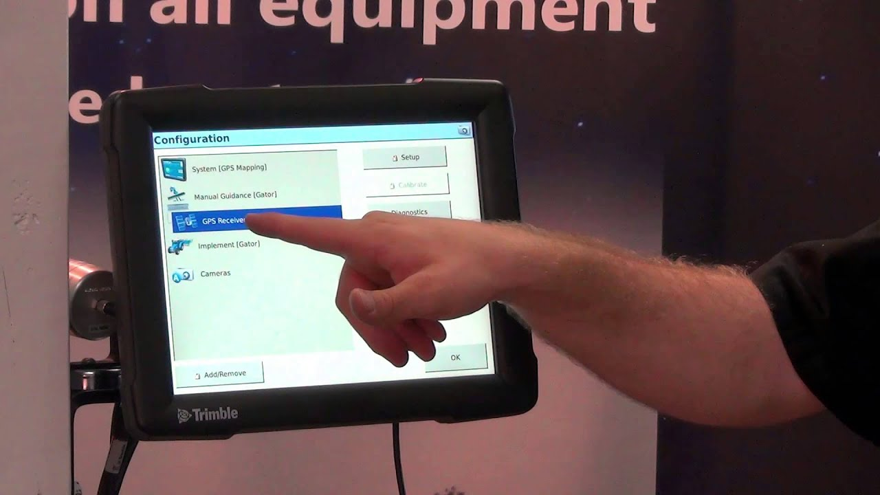 Trimble FMX Display Tutorial - Configuration Menu II