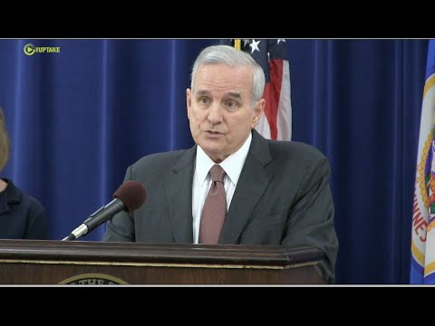 Gov. Dayton  Sets His Terms For MN Special Session - Full Press Conference