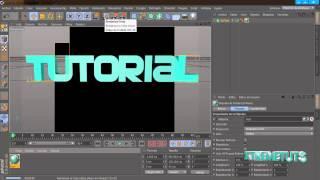Tutorial Cinema 4D//Efecto Aleatorio//Español