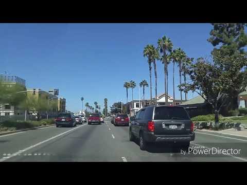 Driving by Anaheim,California