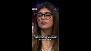 Ex P0rnstar Mia Khalifa Interview (with subtitles) || How she came into porn industry