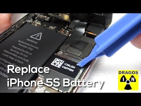 Can you replace an iphone 5s battery