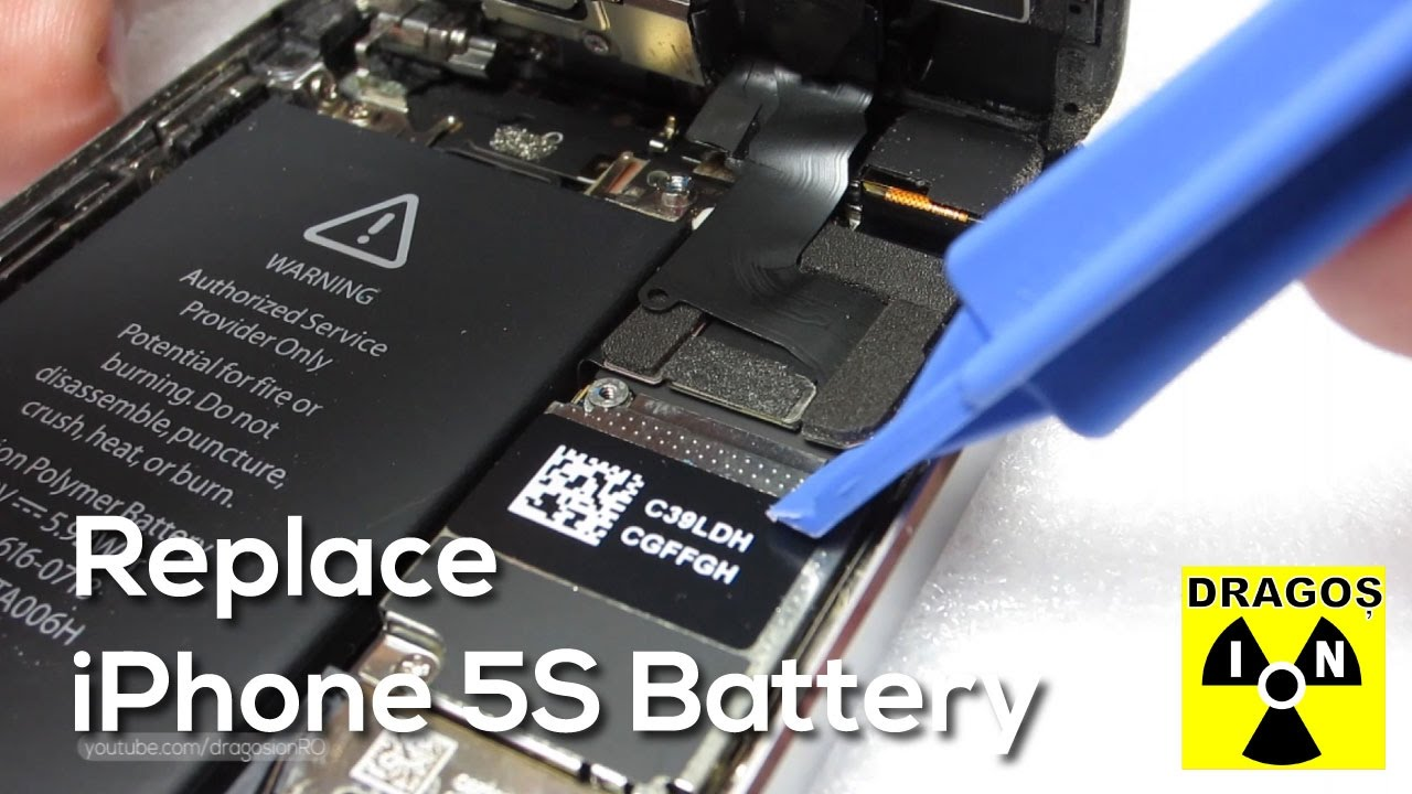 How long to replacement an iphone 5s battery youtube