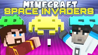 Minecraft Minigames - Space Invaders - Games With Sips