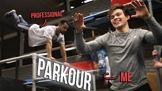 I TRIED PARKOUR FOR THE FIRST TIME | Parkour / Freerunning