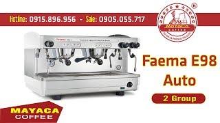 [Mayaca coffee] Máy pha cà phê chuyên nghiệp Faema E98 auto - 2 Group