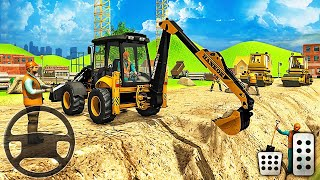 City Road Builder 2021 - Construction Excavator Simulator - Android Gameplay