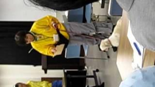 2010/3/15 荒川区保健所で行われた、東京動物愛護相談センタースタッフ...