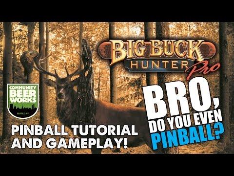 "Big Buck Hunter pinball with Community Beer Works! 11/17/16 - ""Bro, do you even pinball?"""