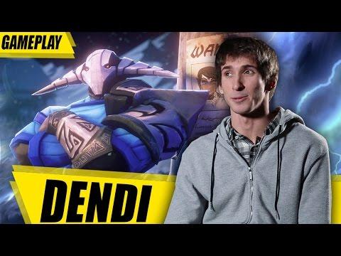Dendi Sven Gameplay Dota 2