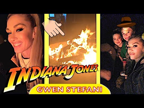 Gwen Stefani & Blake Shelton's Indiana Jones adventures with family in Oklahoma Part 2/2💥✊