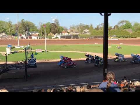 Plymouth Dirt Track Sprint Heats 5-25-2019
