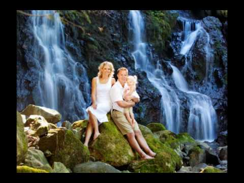 """Portrait session at """"The Secret Waterfall"""""""